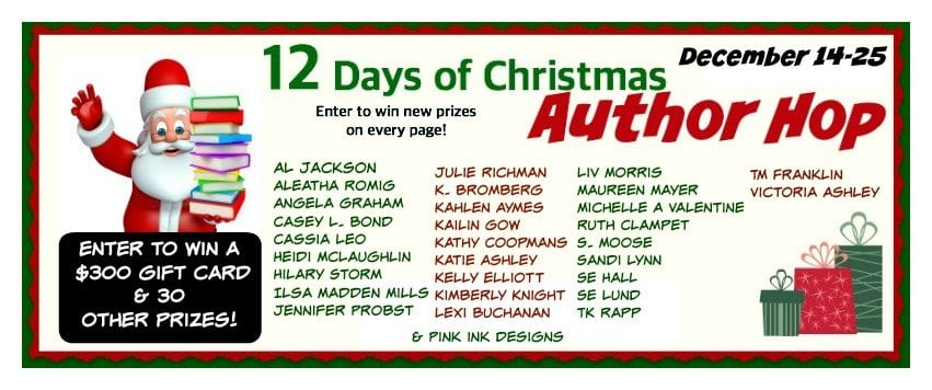 12 Days of Christmas Author Hop!