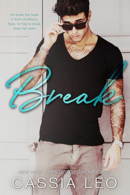#BlogTour ~ Break by Cassia Leo ~ #4StarReview #Playlist #Excerpt #Trailer @AuthorCassiaLeo @inkslingerpr